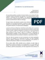 La Funcion Directiva y El Gestor Educativo