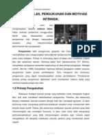 psikologi dalam sukan  (maklum balas, pengukuhan, dan motivasi intrinsik