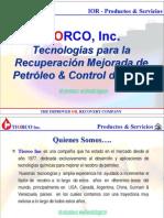 tecnologías para la recuperación mejorada de petróleo & control de agua
