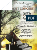 April 27 EarthKeepers II 'Hymns for the Earth' Event 4-27-13 Marquette, MI at 7 p.m. in Messiah Lutheran Church