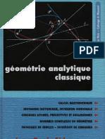 Eiden Jean-Denis - Géométrie analytique classique