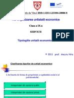 Organizarea Unitatii Economice Clasa a IX a NITA Ancuta