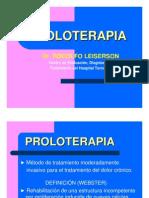 Dr Leiserson - Proloterapia