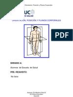 Orientacion , Posicion y Planos Corporales