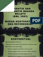 MAKNA KONTEKSTUAL & REFERENSIAL