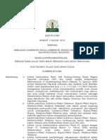 Qanun Aceh - Pemilukada