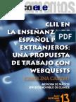 Castro Clil Webquests