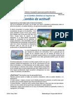 Charla SGA 013 EL efecto Invernadero y el Cambio Climático