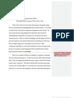 Paper #3 Sample Paper Winter's Bone