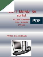 Taller.1 Manejo de Scribd Nicolas Silva