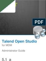 TalendOpenStudio MDM Studio AG 51a En