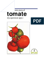 Descriptores Ibpri Tomate