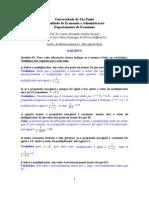 Exercícios macroeconomia I resolvidos lista 1