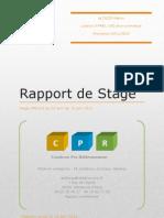 Rapport de Stage Licence 3
