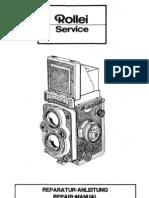 Rolleflex TLR Manual