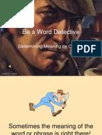 Word Detective Powerpoint