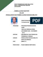 Pembelajaran Masteri Dalam Pengajaran Dan Pembelajaran Bahasa Melayu