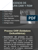 Presentacion Procesos OAW RSW