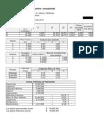 Caso Presupuestos - Presupuestado