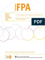 A Human Rights–Based Approach to Programming Practical Implementation Manual  and Training Materials