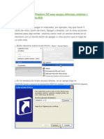 Crear Botones en Windows XP Para Apagar
