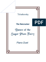 Tchaikovsky SugarPlumFairy Duet Sheet Music