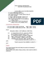 About Emc Measurement Units