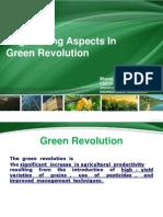 Engineering aspects in green revolution