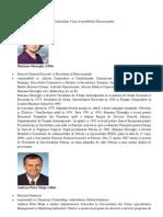 Curriculum Vitae Al Membrilor Directoratului