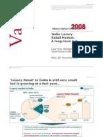 Luxury Retail market