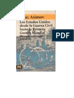Asimov, Isaac - Historia de Los Estados Unidos Desde La Guerra Civil Hasta La Primera Guerra Mundial