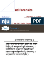 Cloud Forensics