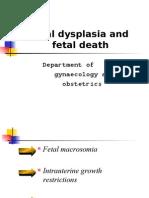 胎儿发育异常