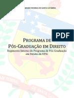 Regimento Interno Do PPGD