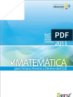 SER Matematica EGB 8910