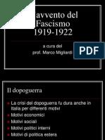 Fascismo Avvento