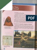 atividades sobre Leonardo Da Vinci - projeto araribá 7 ano