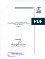 Manual Organizacion Unidades Medicas Hosp Segundo Nivel Imss