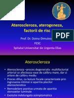 Ateroscleroza, Aterogeneza, Factorii de Risc