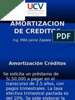 AMORTIZACION DE CREDITOS.ppt
