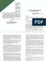 José Afonso da Silva - Aplicabilidade das Normas Constitucionais