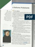 Reforma Protestante - projeto araribá 7 ano