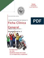 Parcial 3 Historia Clinica
