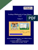 MathsModuleVol I