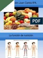 La nutrición.Juan Carlos 6ºA. (1)
