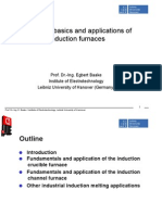 Basics and Applications of Induction Furnaces