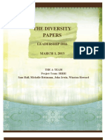 revised the diversity papers project proposal
