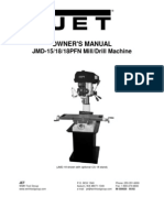Manual Fresadora Jet
