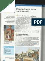 Independência da América Espanhola e Haiti - projeto araribá 8