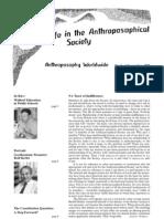 Anthoposophy Worldwide 1998 (2)